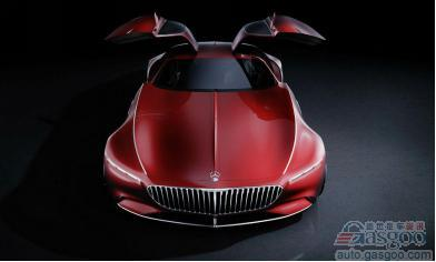 兼具怀旧/超现代 Vision Mercedes-Maybach 6暴光
